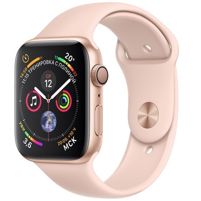 Apple Watch 4 series 40mm  Gold Aluminum Case with Sport Band