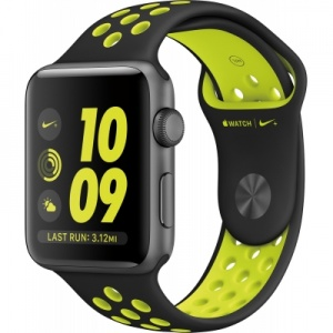 Apple Watch 2 series 42mm Nike Space Gray (Green)