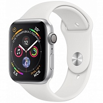 Apple Watch 4 series 44mm Silver Aluminum Case with Sport Band