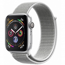 Apple Watch 4 series 40mm Silver Aluminum Case with Sport Loop