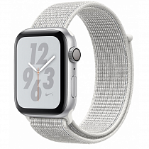 Apple Watch 4 series 40mm Nike Silver Aluminum Case with Loop Band