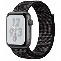 Apple Watch 4 series 44mm Nike Black Aluminum Case with Loop Band
