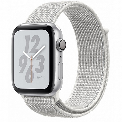 Apple Watch 4 series 44mm Nike Silver Aluminum Case with Loop Band