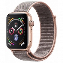 Apple Watch 4 series 40mm  Gold Aluminum Case with Sport Loop