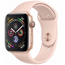 Apple Watch 4 series 44mm Gold Aluminum Case with Sport Band