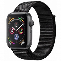 Apple Watch 4 series 40mm Black Aluminum Case with Sport Loop